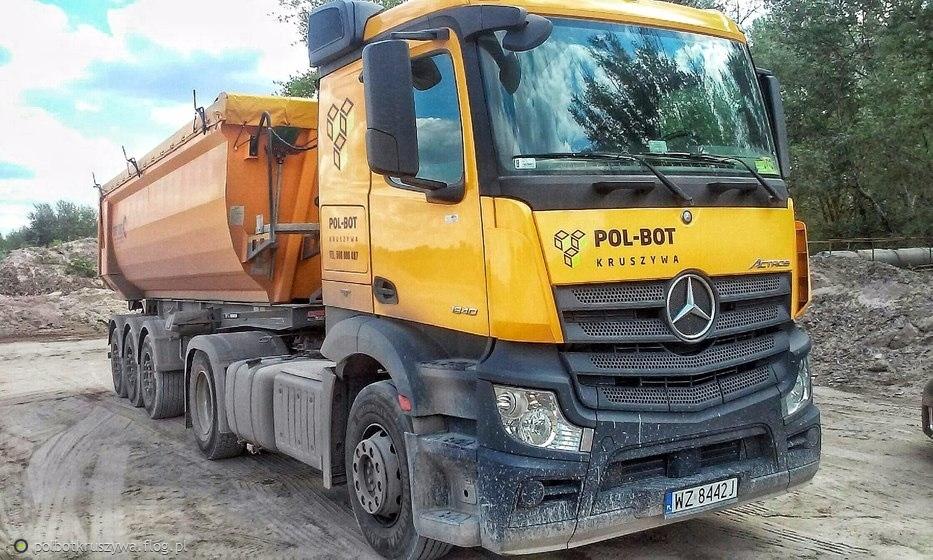Mercedes Actros mp4 ''POL-BOT KRUSZYWA''