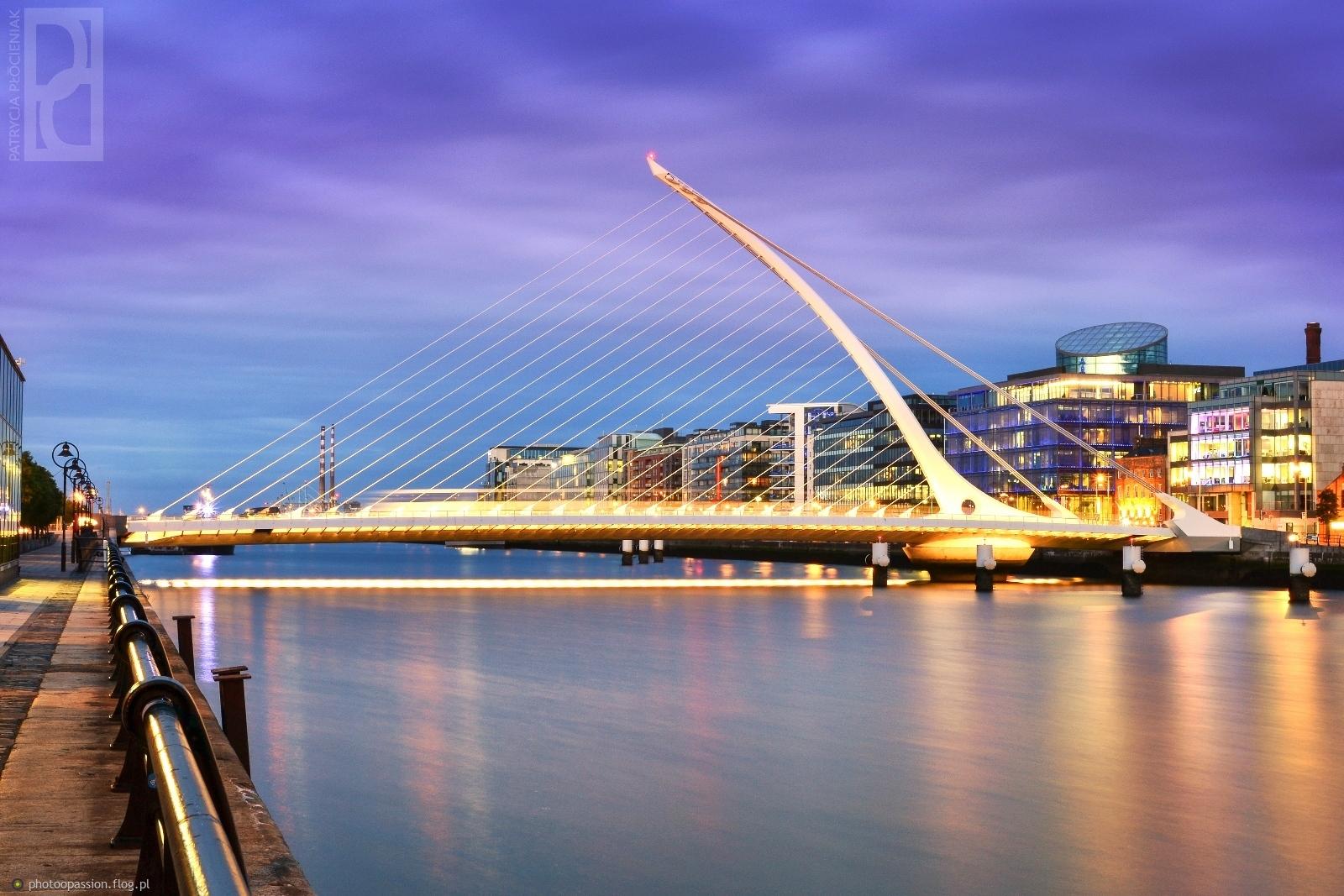 Smauel Beckett Bridge Dublin, mój faworyt numer 1 !